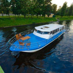 обзор катера Руслан