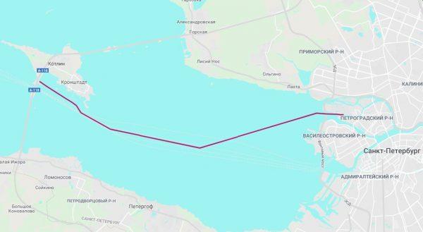 До форта Константин (3 часа)