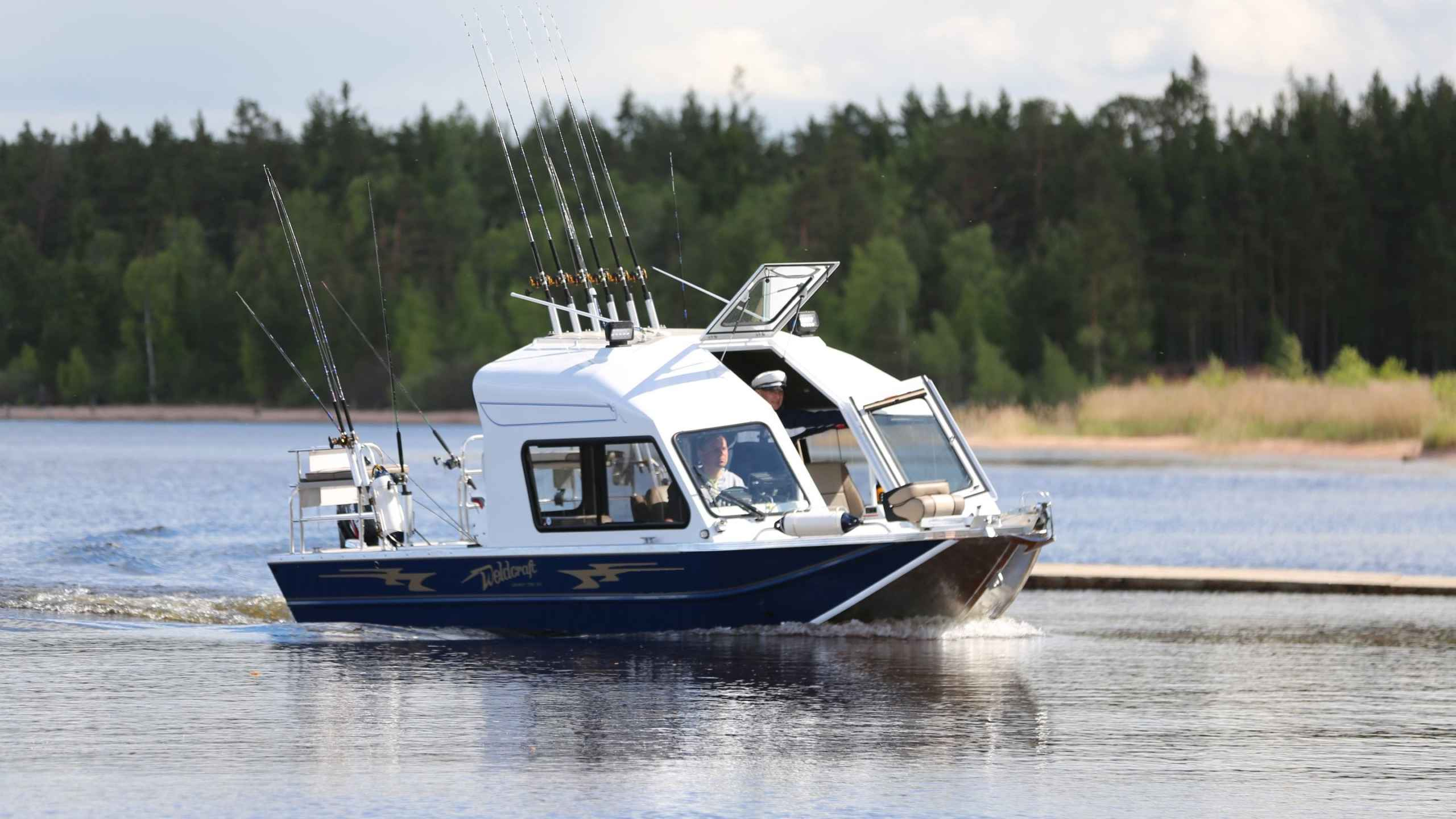 Почему стоит воспользоваться прокатом катера для рыбалки