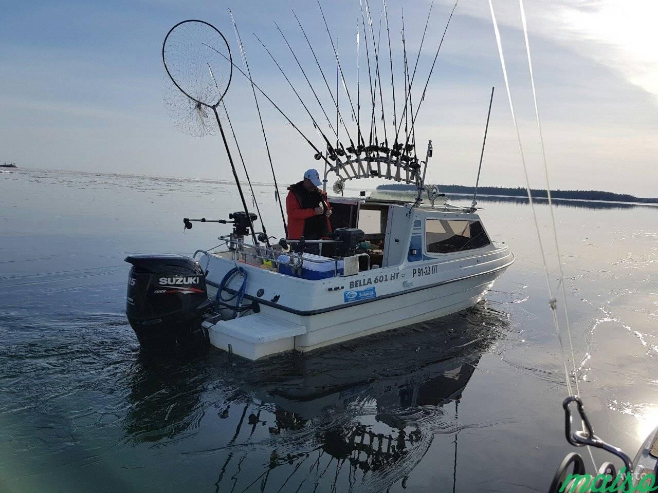 Прокат катера для рыбалки